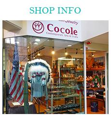 名古屋市のインディアンジュエリーショップ cocoleの店舗